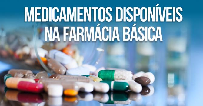 Lista de Medicamentos Farmácia Básica